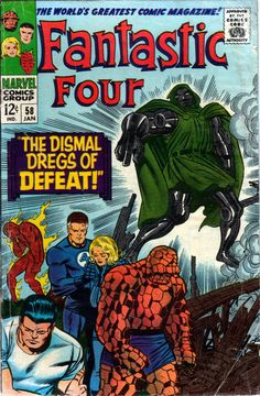 Fantastic Four 58 - Stan Lee and Jack Kirby