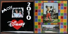 Disney Scrapbook Album...