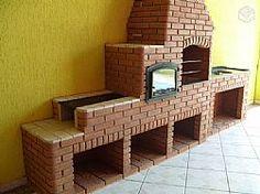 Churrasqueiras, forno e fogao de lenha - Compacto, funcional