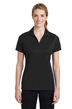 Women's Polo Shirts - SportTek Womens PosiCharge RacerMesh Polo LST640 ** For more information, visit image link. (This is an Amazon affiliate link)