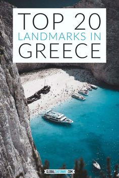 Top 20 landmarks in Greece you just have to see at least once in your lifetime! Top Travel Destinations, Europe Travel Guide, Travel Guides, Greece Vacation, Greece Travel, European Vacation, European Travel, Beautiful Places To Visit, Greek Islands