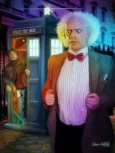 Mashup Retour vers le futur - Doctor Who