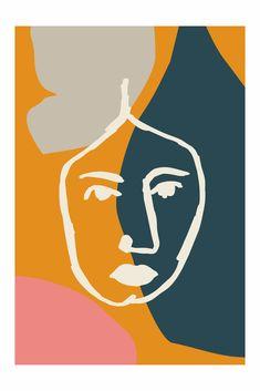 Art Print by Fluorama #fluorama#fluoramaposters#art#artprint#posters#prints#interiordesign#wallart