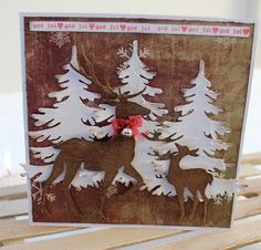 Kari Anne's hobby Marianne Design, Christmas Cards, Moose Art, Flag, Country, Animals, La La Land, Pictures, Christmas E Cards