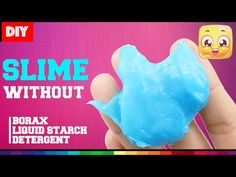 blu tack slime instructions