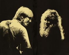 Stevie Nicks and Tom Petty...an amazing duo with great musical chemistry. Saw them together in Mansfield Mass.