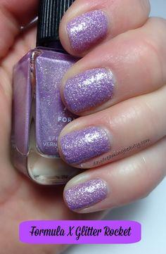 Sephora FormulaX Glitter Rocket textured light orchid via @daydreaming beauty