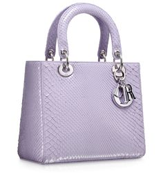 LADY DIOR - Cruise blue quilted patent leather 'Lady Dior' bag