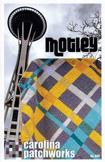 Cool modern quilt