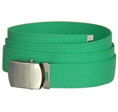 Private Island Party  - Kelly Green Canvas Adjustable Belt 2226, $2.25 - $3.99    This canvas belt is adjustable to fit most individuals, and comes in striking Kelly green! How stylish!