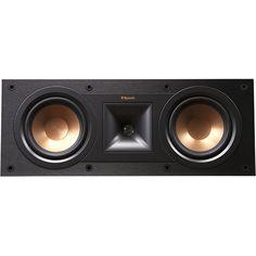 Best Buy Klipsch Reference Dual 51 4 CenterChannel Speaker Black R 25C