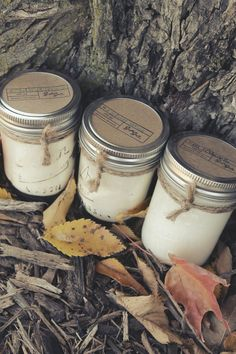 Soy Candles - 8 oz Mason Jars - Your Choice of THREE #dteam #Etsy
