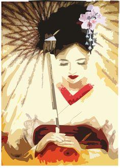 Memoirs of a geisha layouts