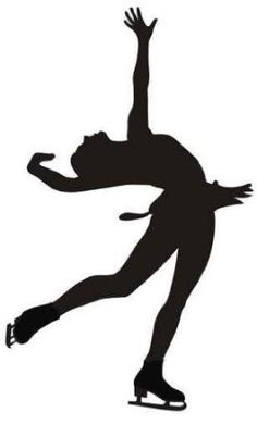 Layback Figure Skater Wall Decal