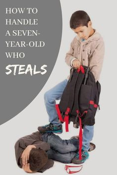 Do you have a child who tends to steal? In this article, you will find teaching ideas, and tips on how to handle a child as young as 7 years old who steals. Kids Stealing, Seven Years Old, 7 Year Olds, School Counseling, Child Safety, Raising Kids, Child Development, Sunday School, Teaching Kids