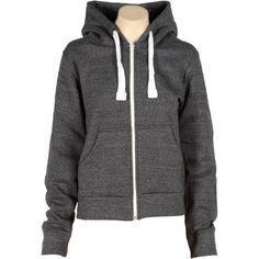 Dark Grey Contrast Zip-Up Sweatshirt Hoodie ($7.75) ❤ liked on Polyvore featuring tops, hoodies, sweatshirt hoodie, zip up hoodie, sweat shirts, dark grey zip up hoodie and sweat tops