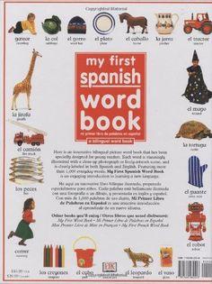 My 1st Spanish Word Book / Mi Primer Libro De Palabras EnEspanol: A Bilingual Word Book (Spanish Edi