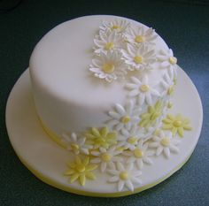 daisy cake for mother's day