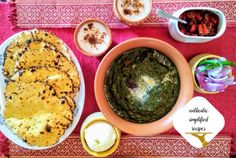 Sarson Ka Saag, Mustard Greens, Palak Paneer, Vegetarian, Dishes, Cooking, Ethnic Recipes, Food, Cucina