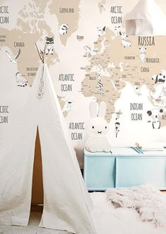 Little Hands Wallpaper Mural - The wallpaper can be ordered in various sizes. We are like tailors, the wallpaper will fit perfectly on your wall, you just have to give us the measures you need! Boys Bedroom Decor, Childrens Room Decor, Playroom Decor, E Room, Nursery Room, Baby Room, Little Hands Wallpaper, Kids Room Wallpaper, Kid Spaces