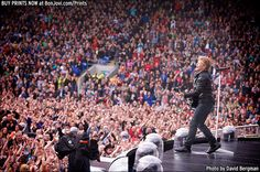 Photo © 2013 David Bergman / www.BonJovi.com/prints -- Bon Jovi at Cardiff City Stadium in Cardiff, UK on June 12, 2013.