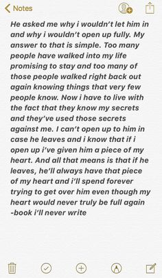 book i'll never write x - Zitate Feeling Broken Quotes, Deep Thought Quotes, Quotes Deep Feelings, Hurt Quotes, Real Quotes, Mood Quotes, Positive Quotes, Life Quotes, Was Ist Pinterest