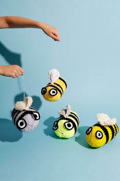 Save the bees + make a beeline for our free Bee Geez pattern | WATG Blog