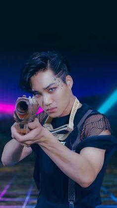 Kai Screencap from Power MV - Kim Jongin Chanyeol, Exo Kai, Kyungsoo, Kaisoo, Got7 Jackson, Jackson Wang, Tao, Exo Dancing King, Exo 2017