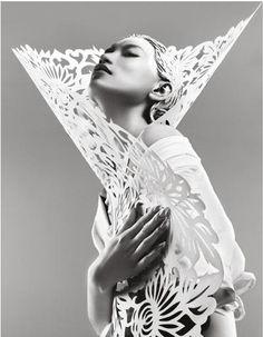 g3blacknwhite: Danni Li photographed by Trunk Xu for Harper's Bazaar China, May 2012