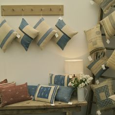 cushions-on-display-at-craft-fair susie gillespie