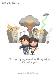 I never worry. Too busy being in my own little world with you ~ <3 Loved…