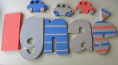 Literki 3D imię dziecka 20 cm+3 dekory GRATIS nowe (5386733197) - Allegro.pl - Więcej niż aukcje.