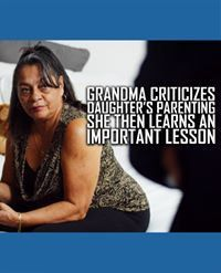 This grandma learns why she shouldn't interfere with her daughter's parenting. Motivational Videos, You Gave Up, Parenting, Daughter, Life Tips, Learning, Relationships, Inspiration, Biblical Inspiration