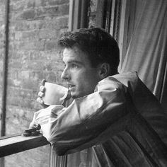 Montgomery Clift fotografiado por Stanley Kubrick, 1949