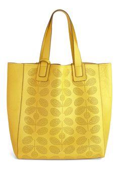 Orla Kiely dandelion bag
