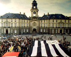 Gwenn ha du, le drapeau breton, son histoire et Morvan Marchal son créateur