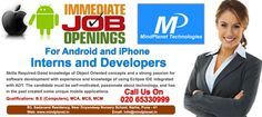Immediate Opening for Android and iPhone