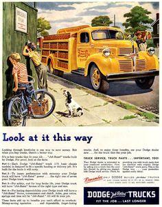 Dodge Trucks Pepsi-Cola Fit The Job - Mad Men Art: The 1891-1970 Vintage Advertisement Art Collection
