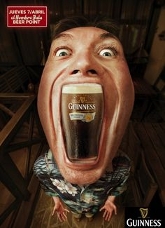 Hoy Jueves:  **GUINNESS Beer Point** (tu Guinness Draught con una oferta muy especial)