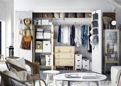 Un dressing spacieux