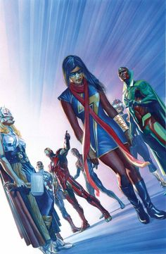 ALL-NEW, ALL-DIFFERENT AVENGERS #5 Alex Ross