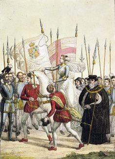Elizabeth I at Tilbury