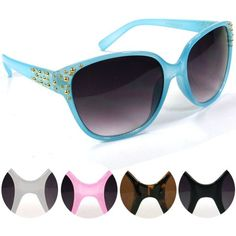 SSW618 Hot trendy fashion sunglasses - Visit us online at www.trendyparadise.com