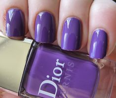 Nail of the Day: Dior Ultra Violet #687 | Pointless Cafe