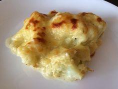 Receta de Coliflor gratinada al horno sin bechamel