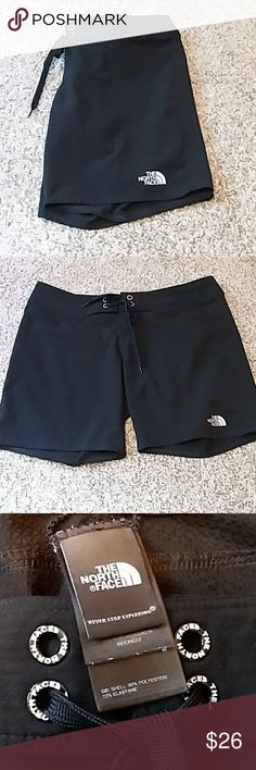The North Face Swim Shorts Women's North Face swim shorts in excellent condition! Back pocket, right side with velcro closure. The North Face Swim