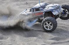 RC trucks for serious hobbyists, and all us kids.