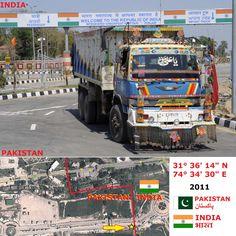 Confini amministrativi - Riigipiirid - Political borders - 国境 - 边界: 2011 IN-PK India-Pakistan India-Pakistan
