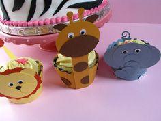 elephant  cupcake holder