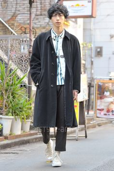 Junjun | BARNEYS NEW YORK  CONVERSE ACNE STUDIOS UNUSED UNIQLO AND LEMAIRE | 1st week  Apr. 2017 | Harajuku | Tokyo Street Style | TOKYO STREET FASHION NEWS | style-arena.jp